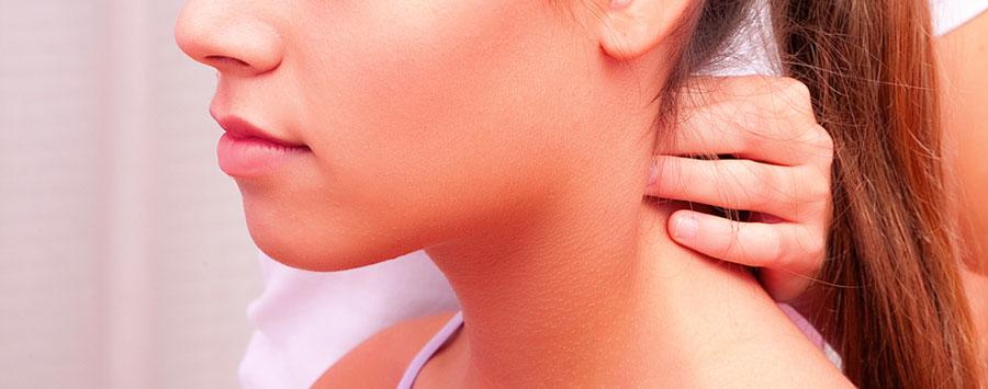 Tratamiento de botox en el cuello