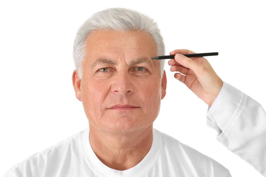 Estética facial en personas mayores